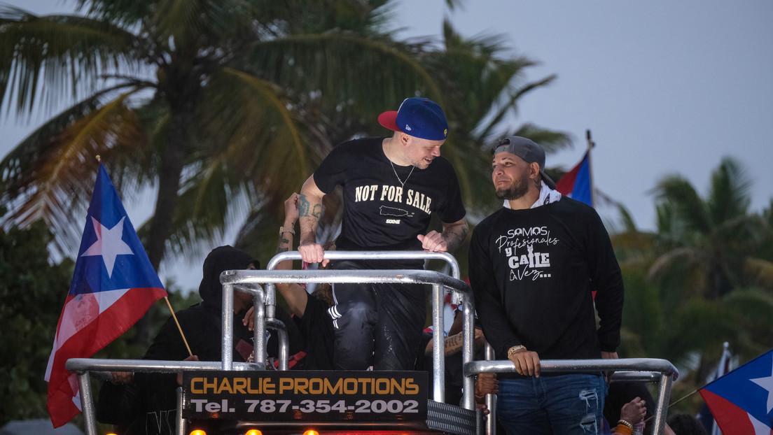 Puertorriqueños protestan junto a músicos y deportistas para exigir la renuncia de la gobernadora por mala gestión tras los terremotos