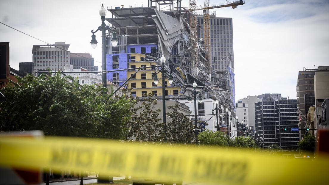 EE.UU.: Queda al descubierto el cadáver de un trabajador fallecido hace tres meses en el colapso parcial de un edificio