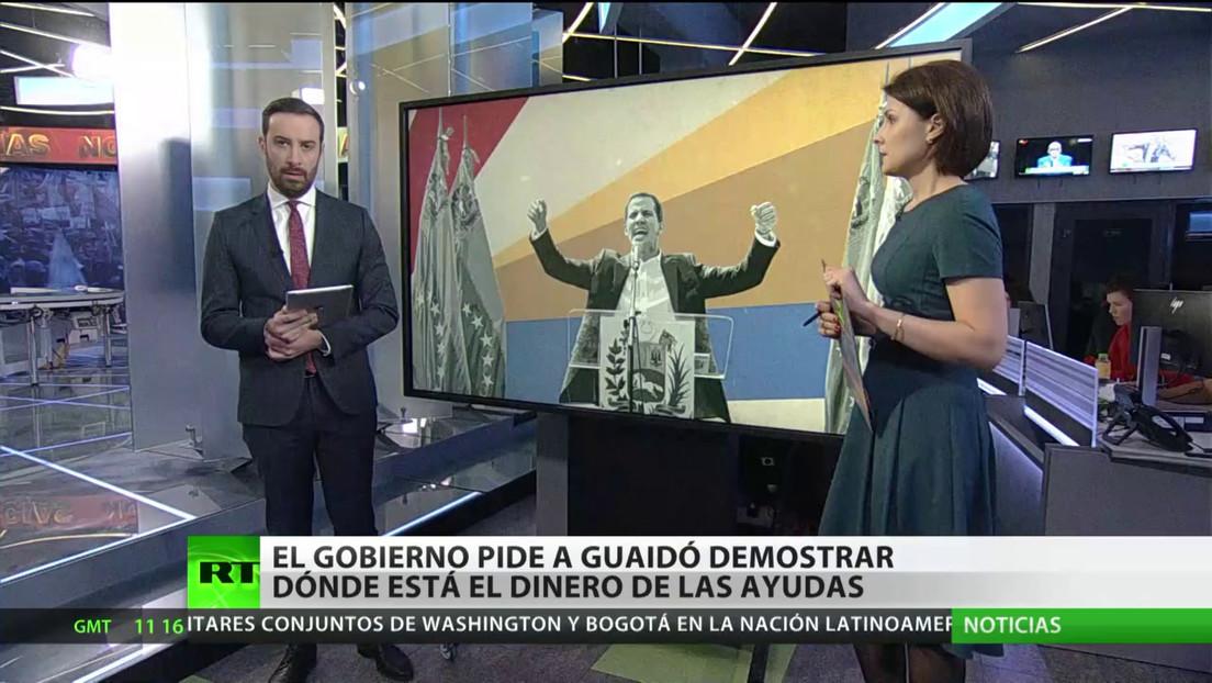 """Juan Guaidó, un año de """"presidente interino"""" sin controlar el poder en Venezuela"""