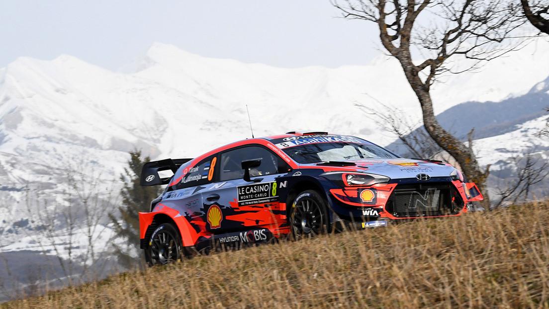VIDEOS: El campeón mundial de rally se accidenta a toda velocidad y cae por una montaña en la carrera de Montecarlo