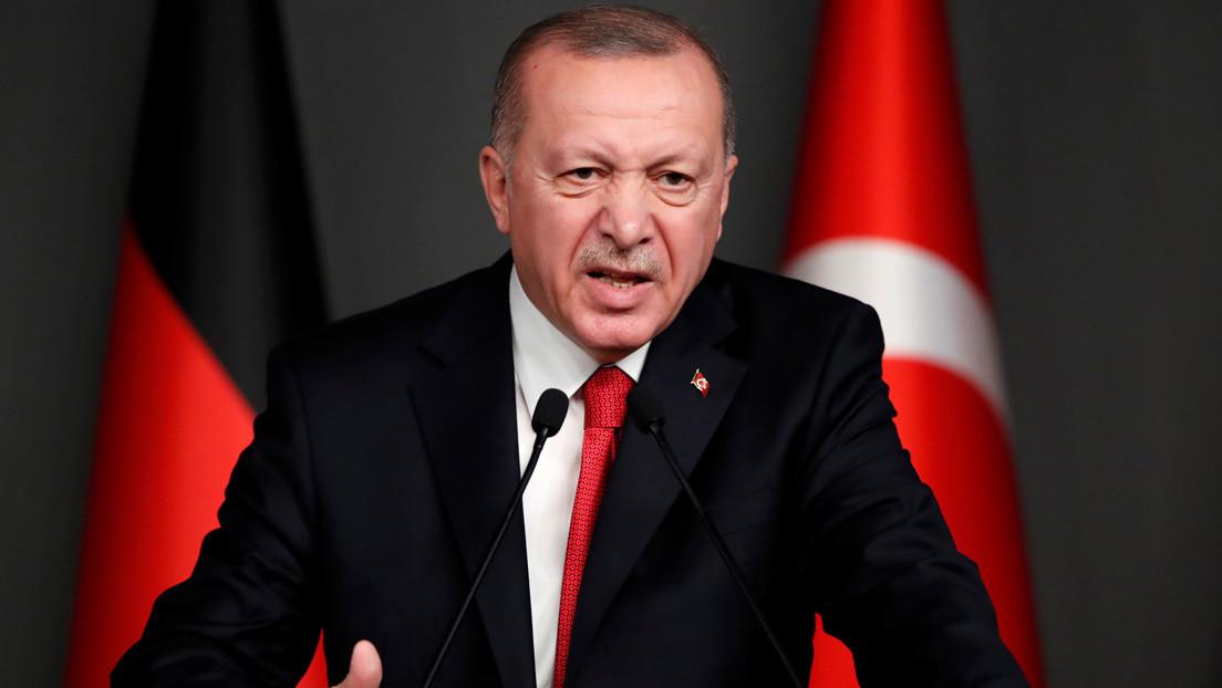 Erdogan afirma que los militares turcos enviados a Libia entrenarán a las fuerzas del Gobierno reconocido por la ONU