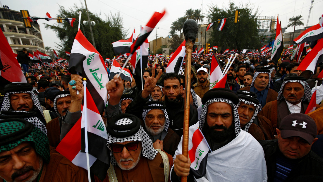 La 'marcha de un millón de hombres' exige en Bagdad la retirada de las tropas de EE.UU. (VIDEOS, FOTOS)