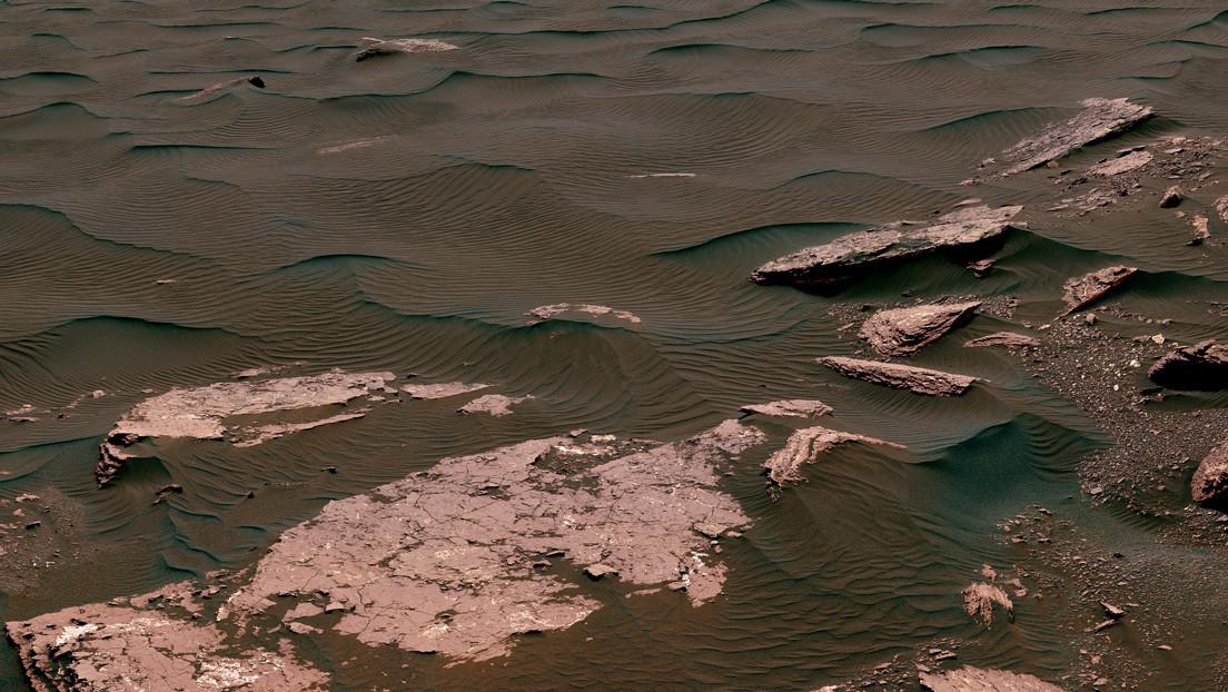 El agua salada y rica en minerales de Marte podría haber albergado vida
