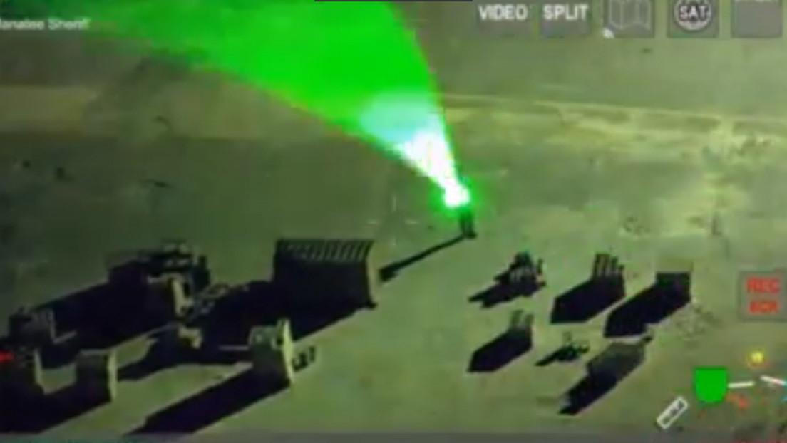VIDEO: Un piloto queda temporalmente ciego por un rayo láser durante el aterrizaje