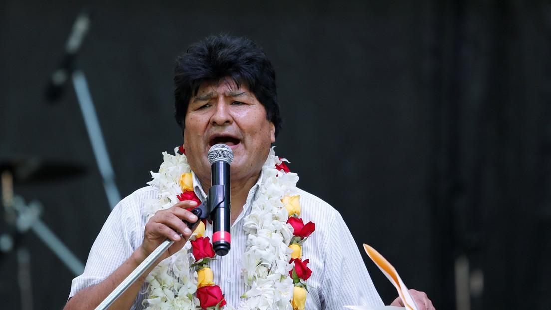 Evo Morales condena la suspensión de relaciones diplomáticas de Bolivia con Cuba