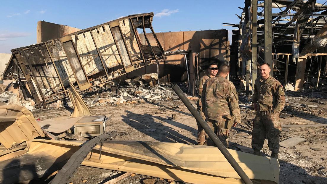 Pentágono: 34 militares de EE.UU. presentan lesiones cerebrales causadas por el ataque de Irán contra sus bases