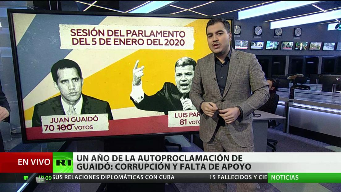 A un año de la proclamación de Juan Guaidó: Corrupción y falta de apoyo