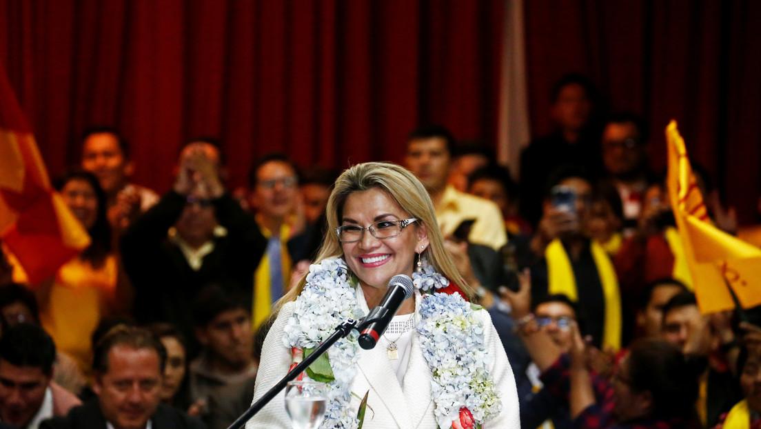 Jeanine Áñez anuncia su candidatura para las elecciones presidenciales en Bolivia