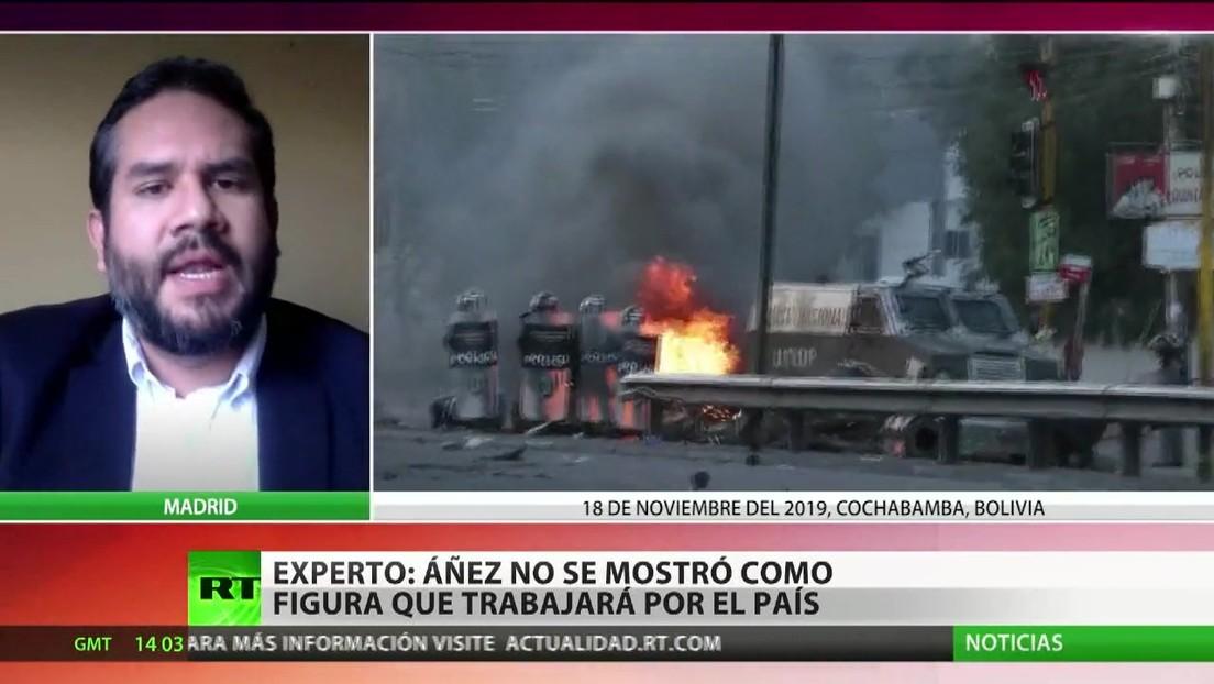 "Analista: Jeanine Áñez no se mostró como figura ""para poder trabajar por el futuro"" de Bolivia"