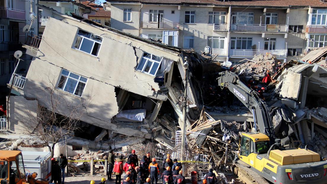 A vista de dron: Las consecuencias del devastador terremoto en Turquía