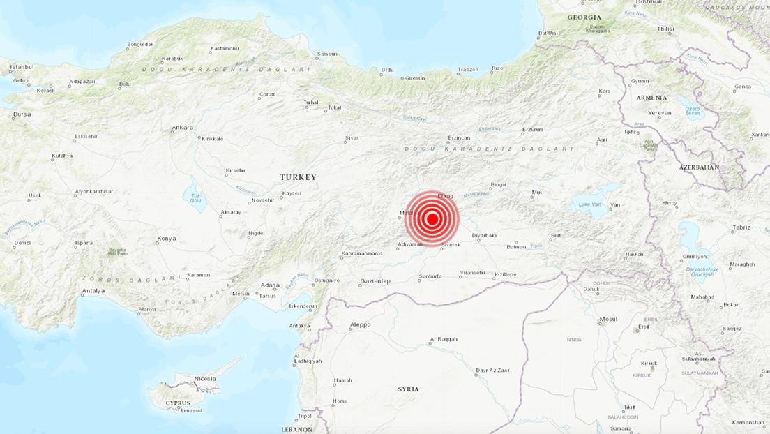 Se registra un nuevo terremoto de magnitud 5,1 en Turquía