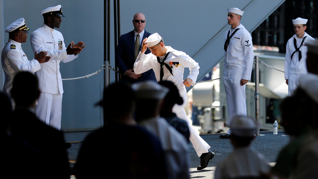 La Armada de EE.UU. investiga videos publicados en la web PornHub en los que aparecen marinos cambiándose de ropa
