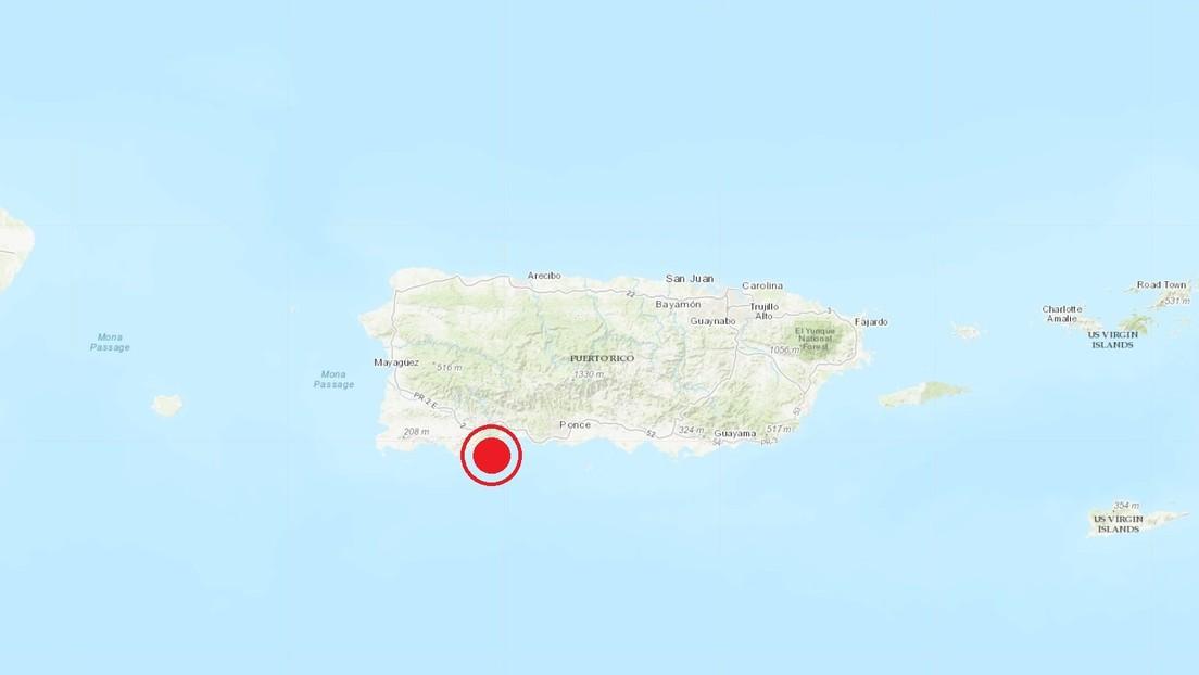 Puerto Rico registra 17 sismos en 24 horas, el mayor de magnitud 5,0