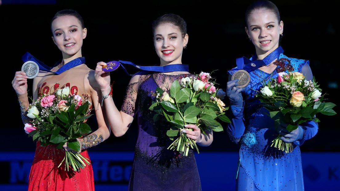 Rusia gana todas las medallas de oro en el Campeonato de Europa de Patinaje Artístico por primera vez en 14 años