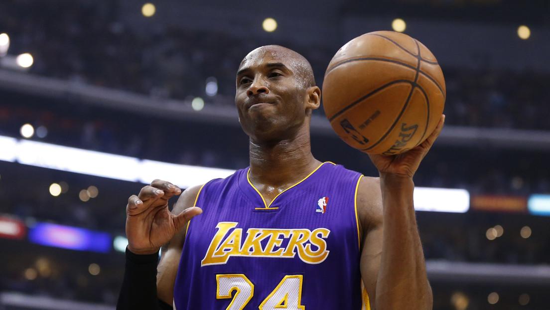 Confirman la muerte de la leyenda de baloncesto Kobe Bryant