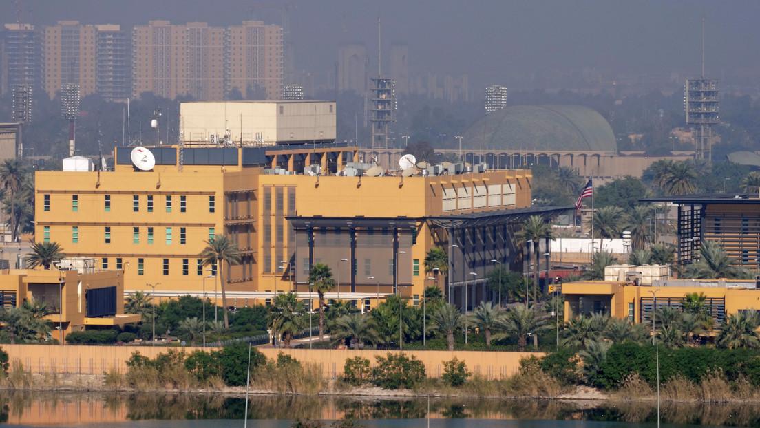 Cinco cohetes impactaron cerca de la Embajada de EE UU en Bagdad