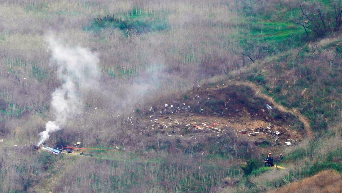 Primera reacción del 911 al accidente de helicóptero en el que murió Kobe Bryant (AUDIO)