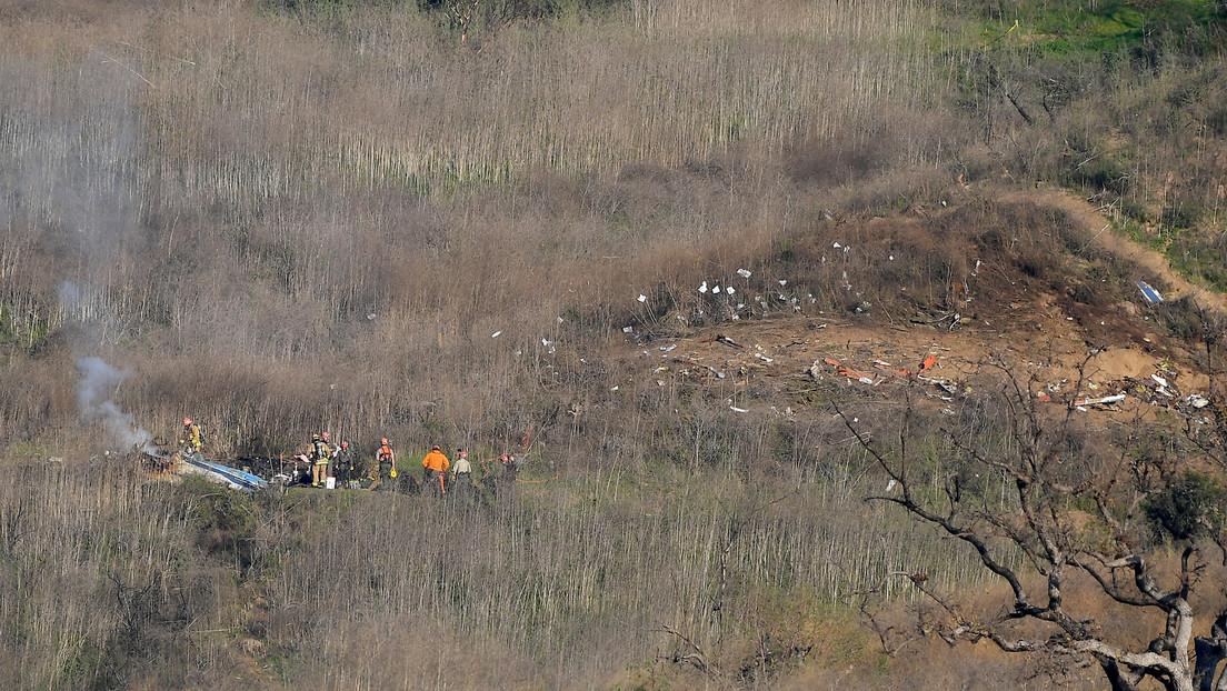 Identifican a otras dos víctimas del accidente aéreo del helicóptero de Kobe Bryant