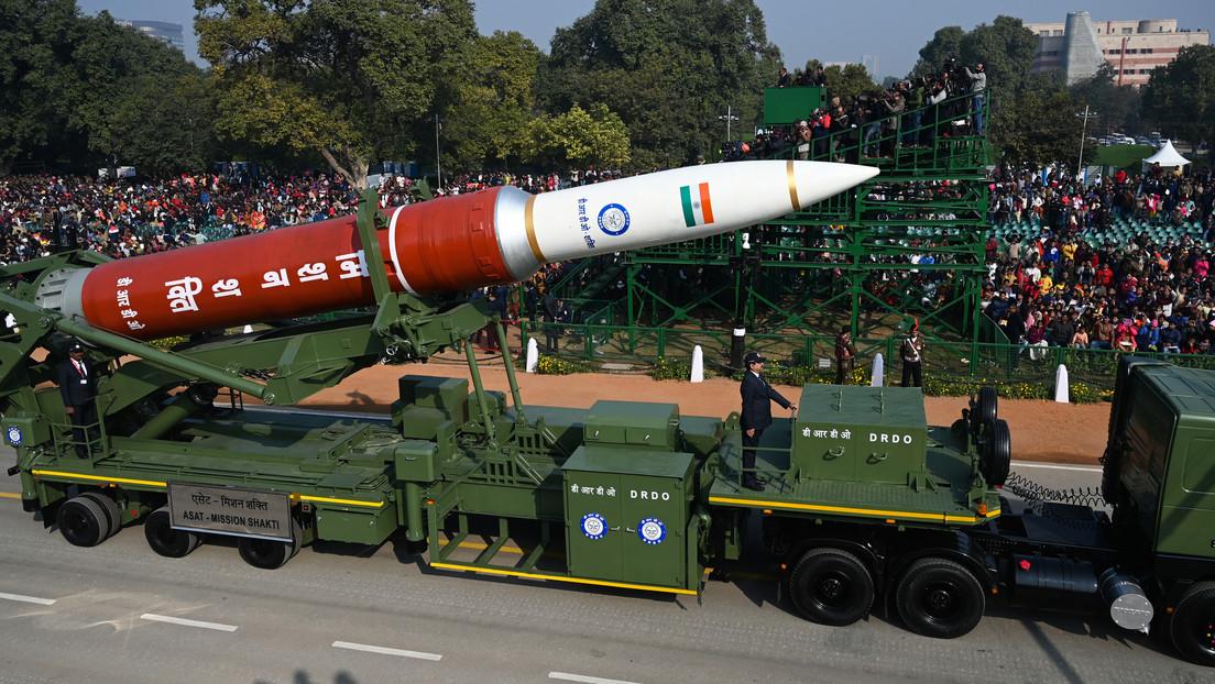 VIDEO: La India exhibe en un desfile militar su misil ASAT que derribó un satélite