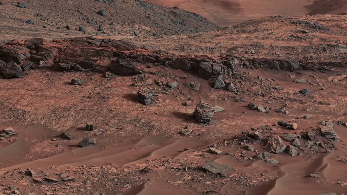VIDEO: Imágenes únicas del cráter marciano Gale, enviadas por el róver Curiosity
