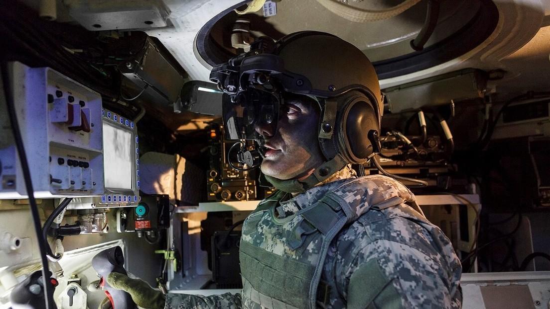 VIDEO: El Ejército británico muestra un tanque equipado con 'visión de rayos X' de 360º