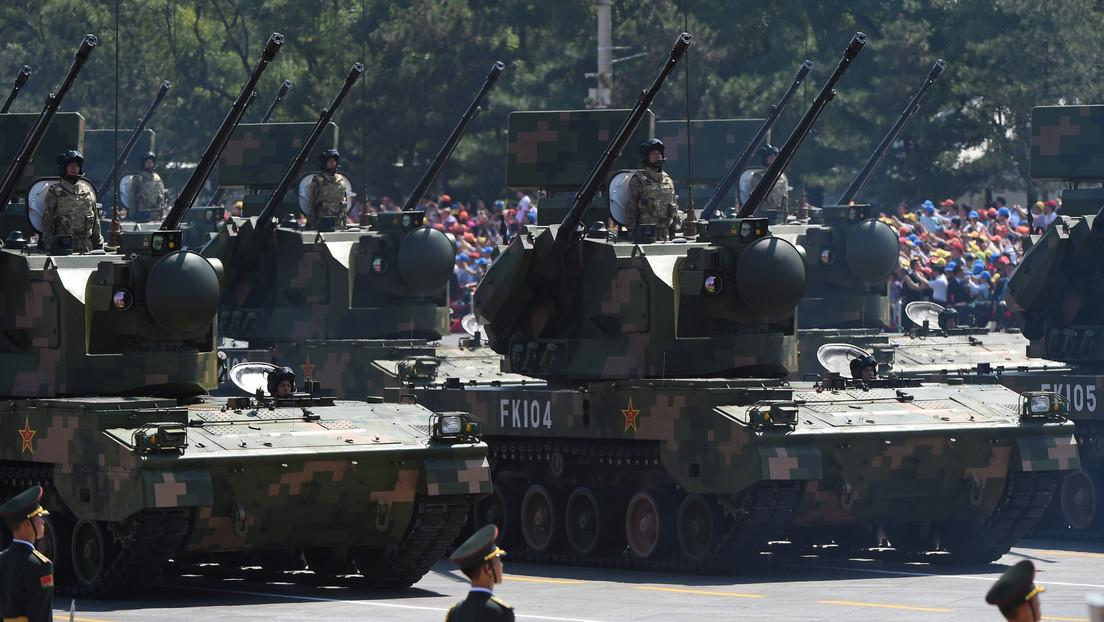 China se convierte en el segundo vendedor de armas del mundo después de EE.UU.