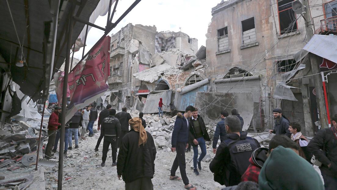 Rusia: Cascos Blancos y terroristas preparan simulacros con el uso de cloro en Siria
