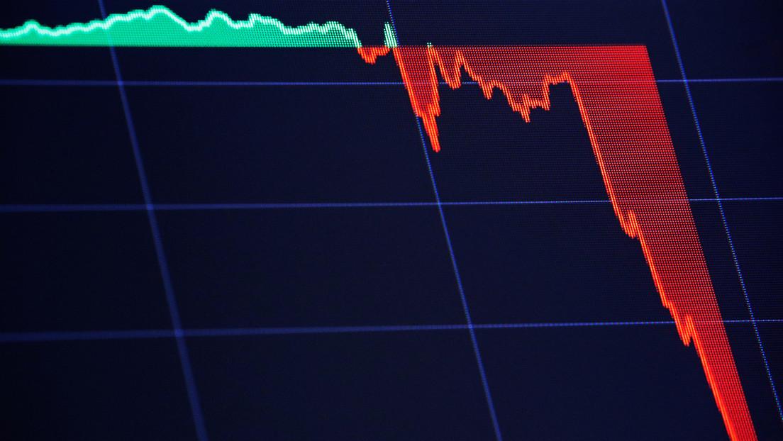El Dow Jones pierde más de 450 puntos en el contexto de la propagación del coronavirus