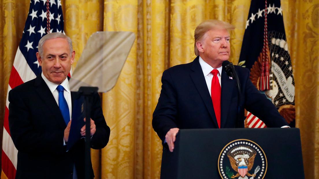 Trump presenta 'el acuerdo del siglo', que prevé la solución de dos Estados para alcanzar la paz entre Israel y Palestina