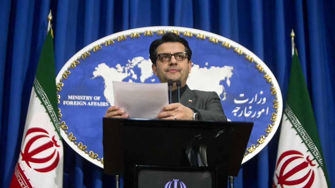 """Cancillería iraní: """"Estamos listos para oponernos al plan de paz de EE.UU. para Medio Oriente en cooperación con otros países de la región"""""""