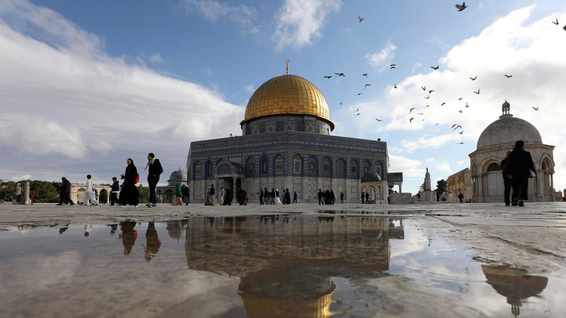 ¿La mezquita de Al-Aqua? Trump confunde el nombre de un importante sitio sagrado mientras presenta su plan de paz para Medio Oriente (VIDEO)