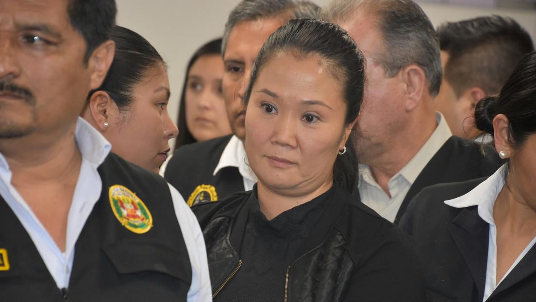 Justicia peruana ordena 15 meses de prisión preventiva para Keiko Fujimori