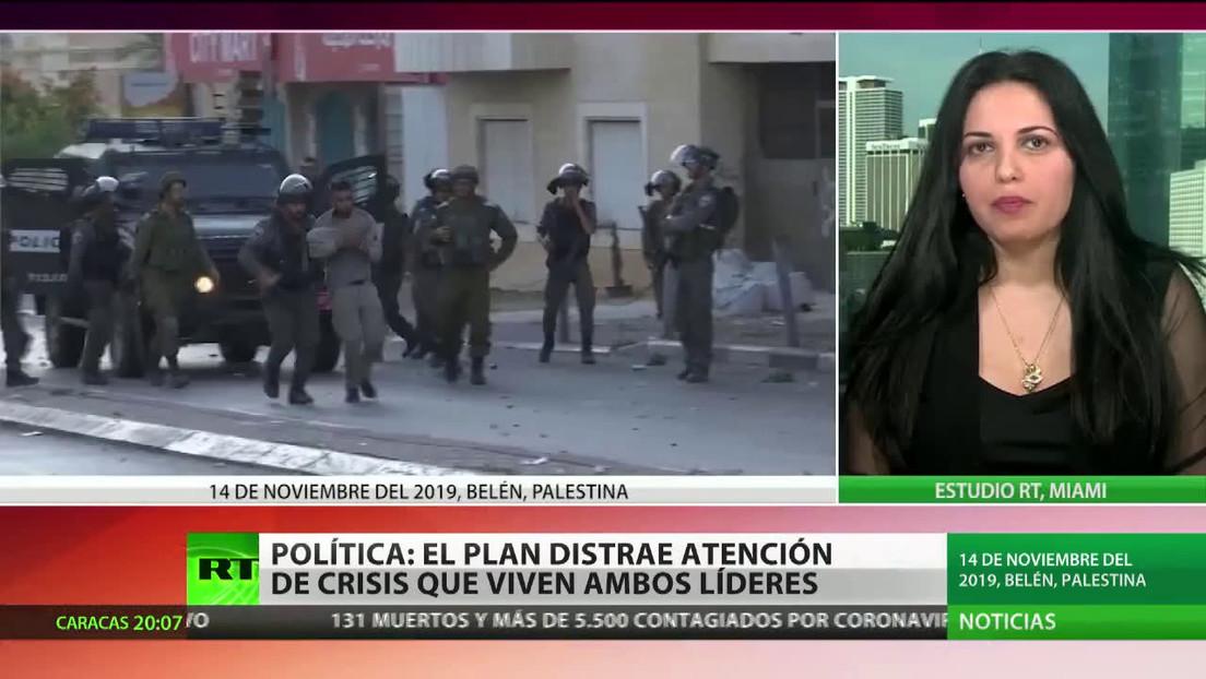 """Política estadounidense: """"El plan de paz para Israel y Palestina distrae la atención de la crisis que viven Trump y Netanyahu"""""""