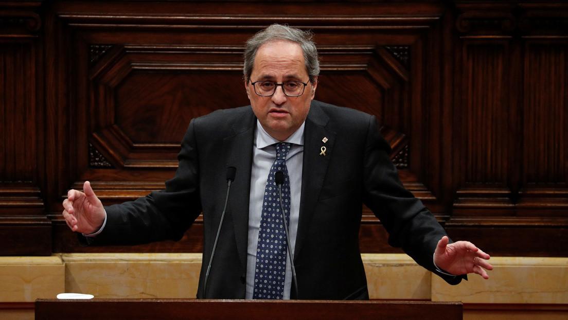 """El presidente de Cataluña anuncia elecciones anticipadas: """"La legislatura ya no tiene más recorrido político"""""""