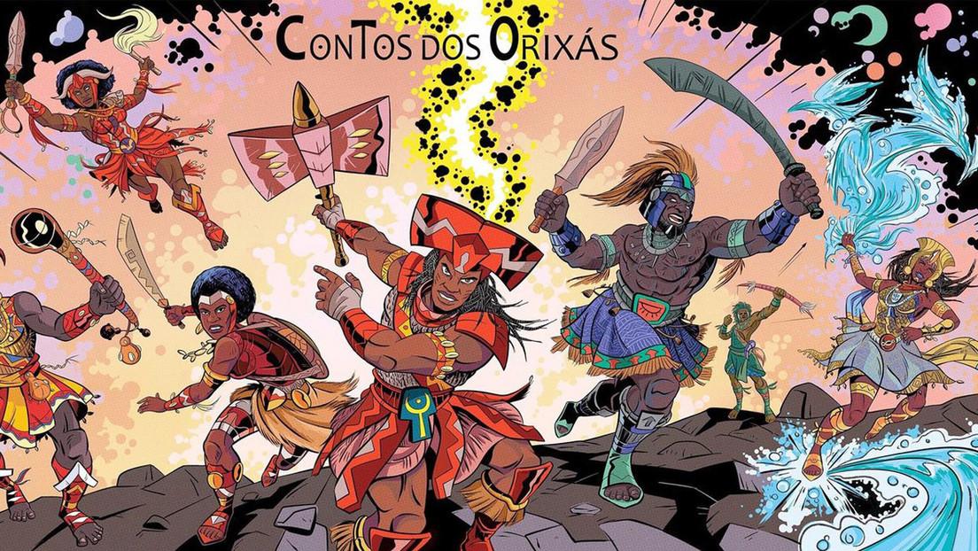 Los superhéroes y heroínas negros que luchan contra el racismo a través de un cómic afrobrasileño