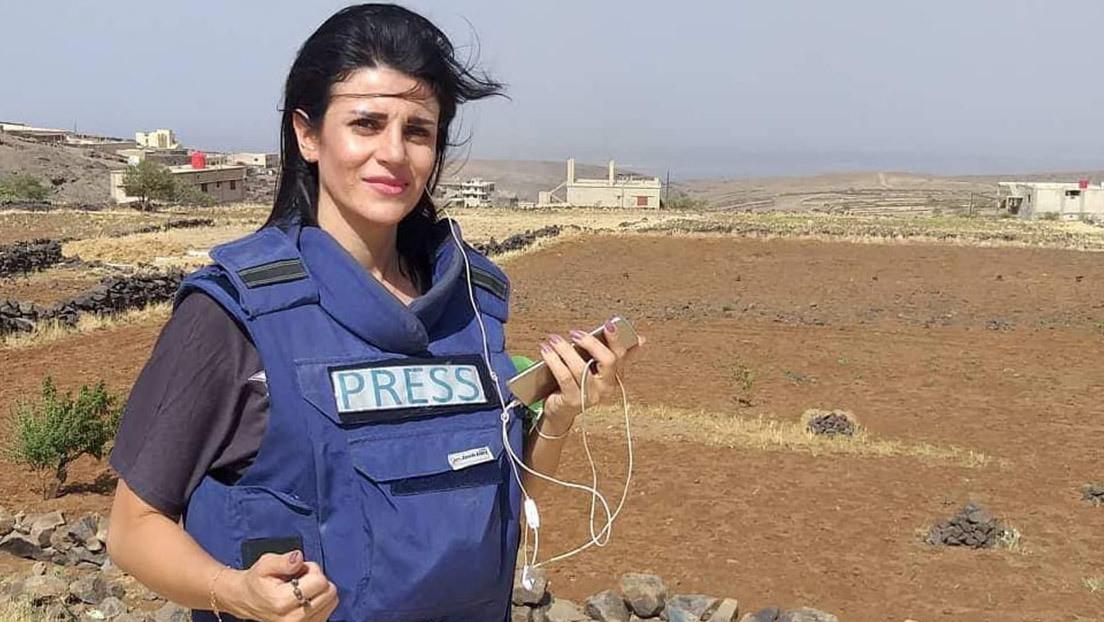 Una corresponsal de RT resulta herida de gravedad durante una cobertura en Siria