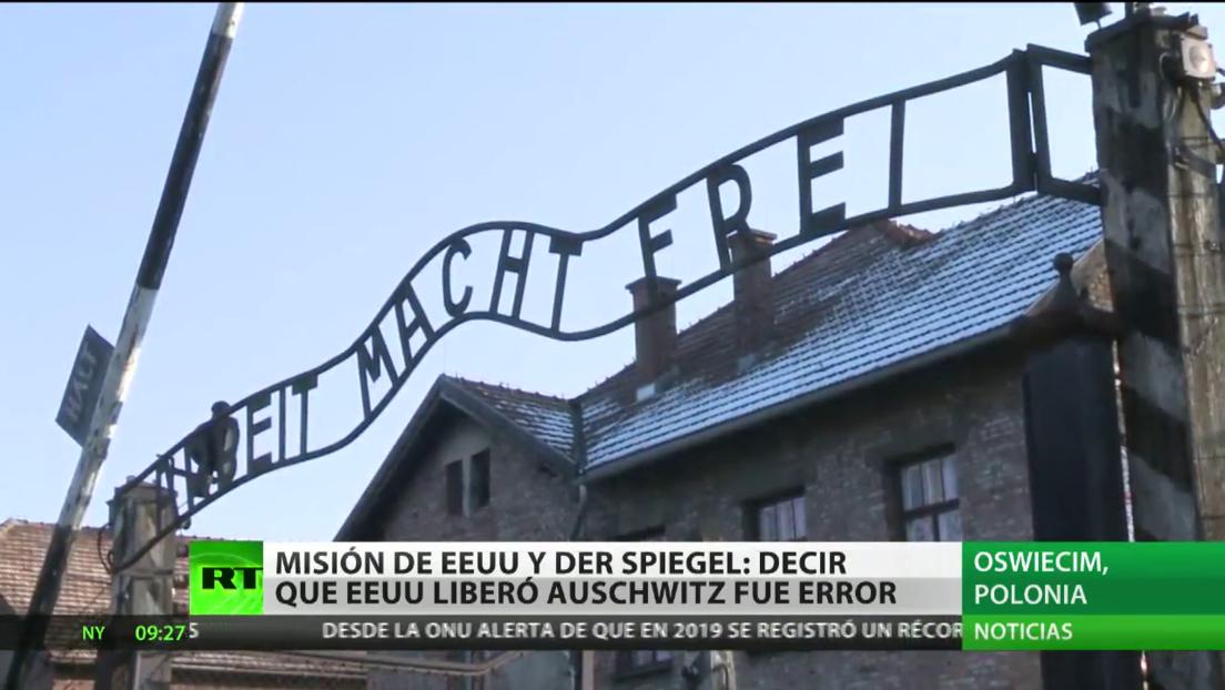 La Embajada de EE.UU. en Dinamarca atribuye a su país la liberación de Auschwitz y reconoce su error
