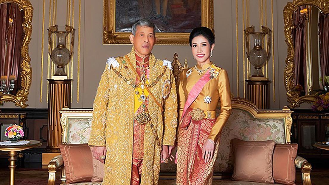 Se desconoce el paradero de la última concubina del rey de Tailandia, despojada de sus títulos por deslealtad al monarca