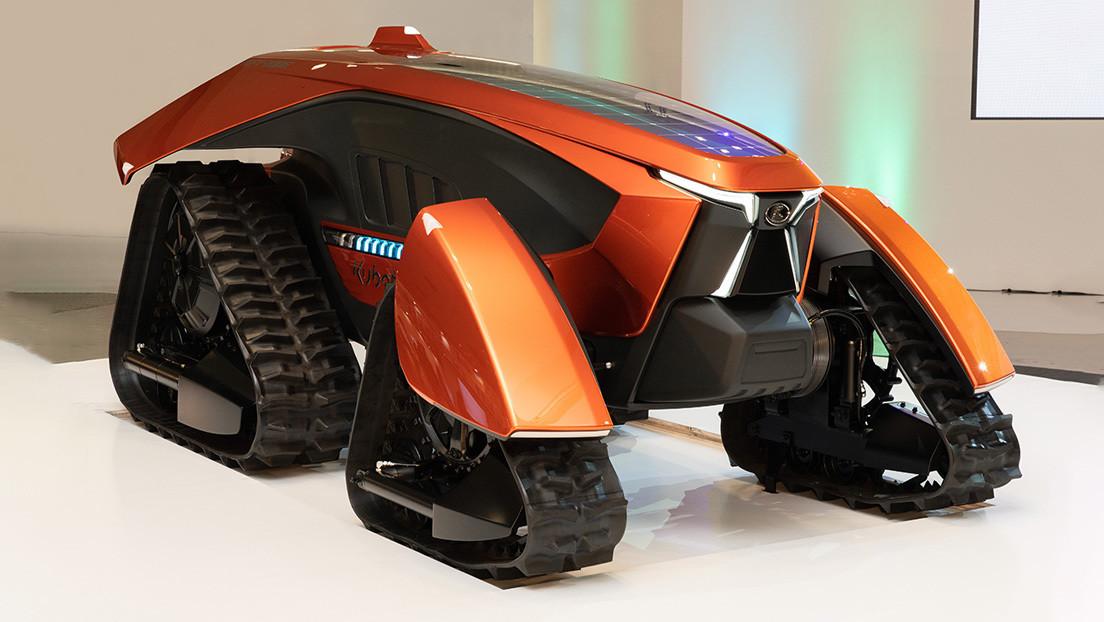 """No tripulado, eléctrico y con inteligencia artificial: así es el """"tractor soñado"""" que exhibe Japón (VIDEO)"""