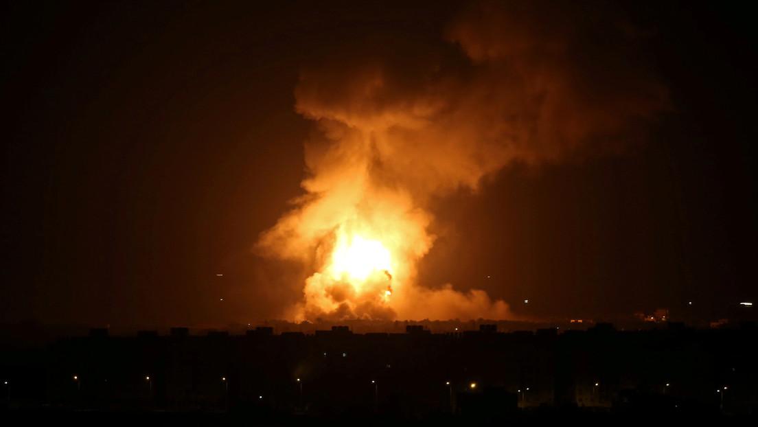 Israel responde a un misil lanzado desde Gaza con un ataque contra objetos de Hamás