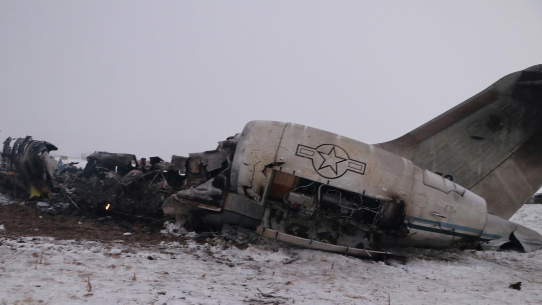 El Pentágono identifica a los dos fallecidos en el siniestro del avión militar estadounidense en Afganistán