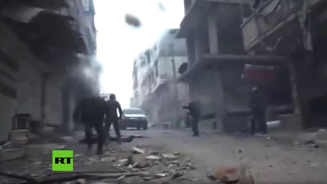 VIDEO: Momento de la explosión que hirió de gravedad a una corresponsal de RT en Siria