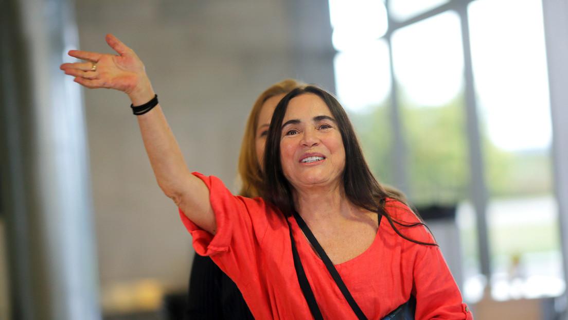 La actriz brasileña de telenovela Regina Duarte, nueva secretaria de Cultura en el Gobierno de Bolsonaro
