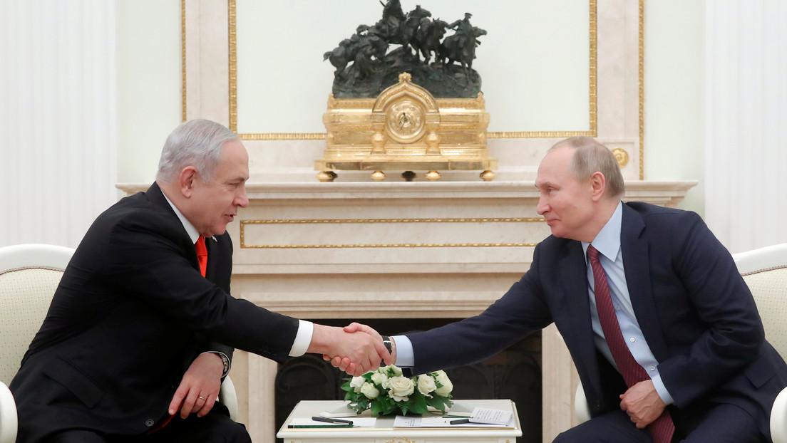 Putin y Netanyahu discuten el 'acuerdo del siglo' para llevar la paz a Oriente Medio