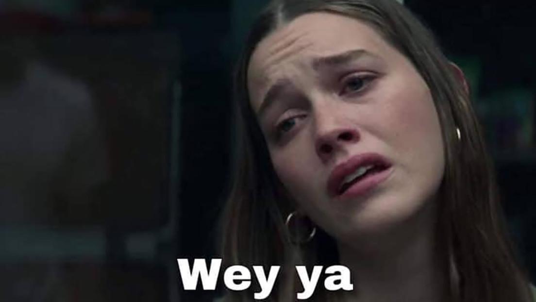 'Wey ya', el nuevo meme que expresa sufrimiento y que tiene su origen en Netflix