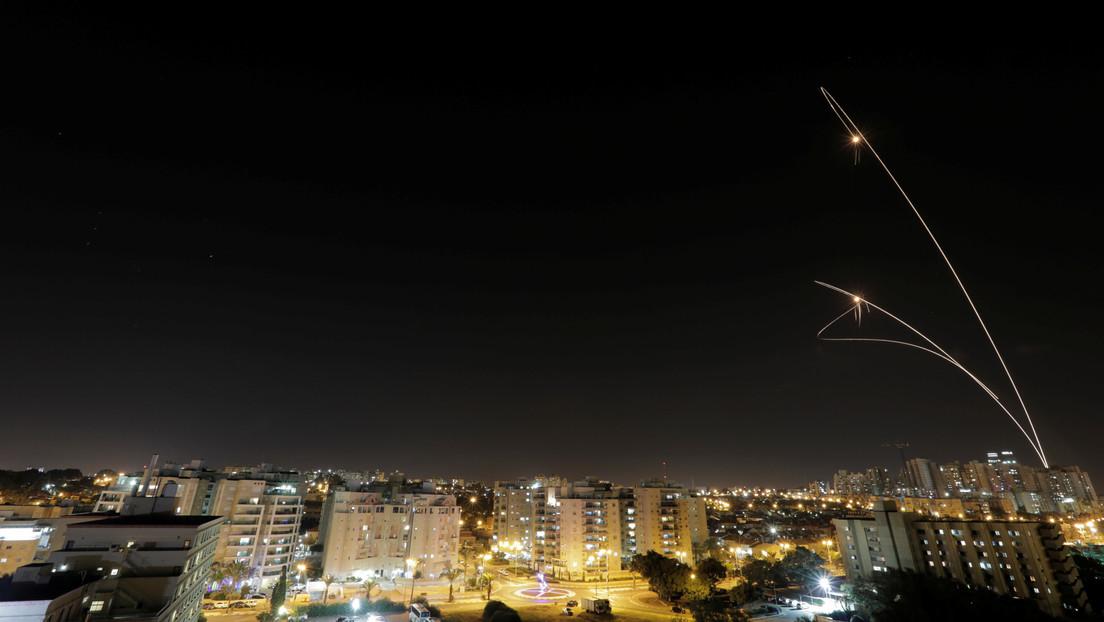 Lanzan tres misiles desde la Franja de Gaza hacia Israel