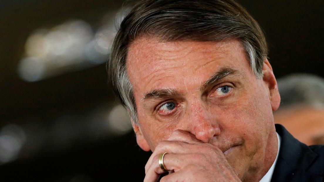 Bolsonaro despide a un alto funcionario, 24 horas después de nombrarlo, por el escándalo del uso indebido de un avión oficial
