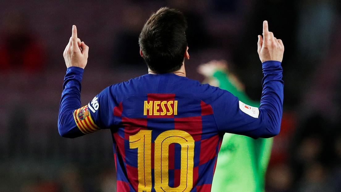 Messi bate otro récord sin precedentes con el Barcelona en la goleada contra el Leganés