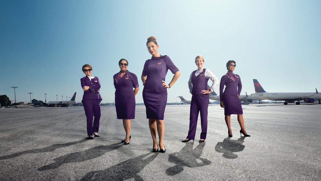 Delta Airlines retira los uniformes 'tóxicos' que generaron múltiples problemas de salud a sus empleados