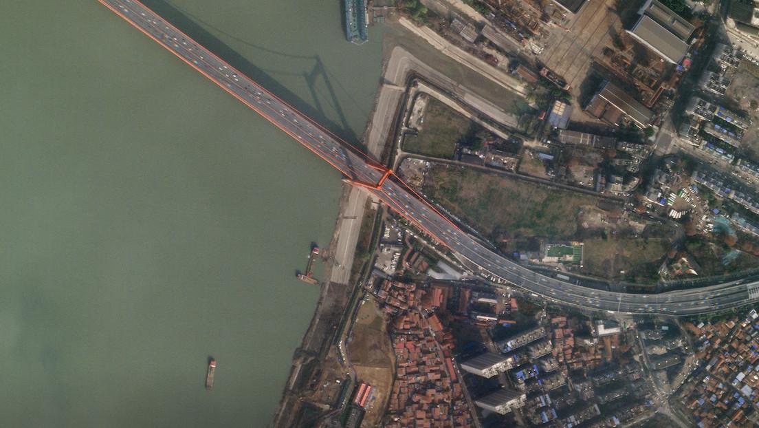 Imágenes de satélite muestran las calles vacías de Wuhan tras su cierre por el coronavirus